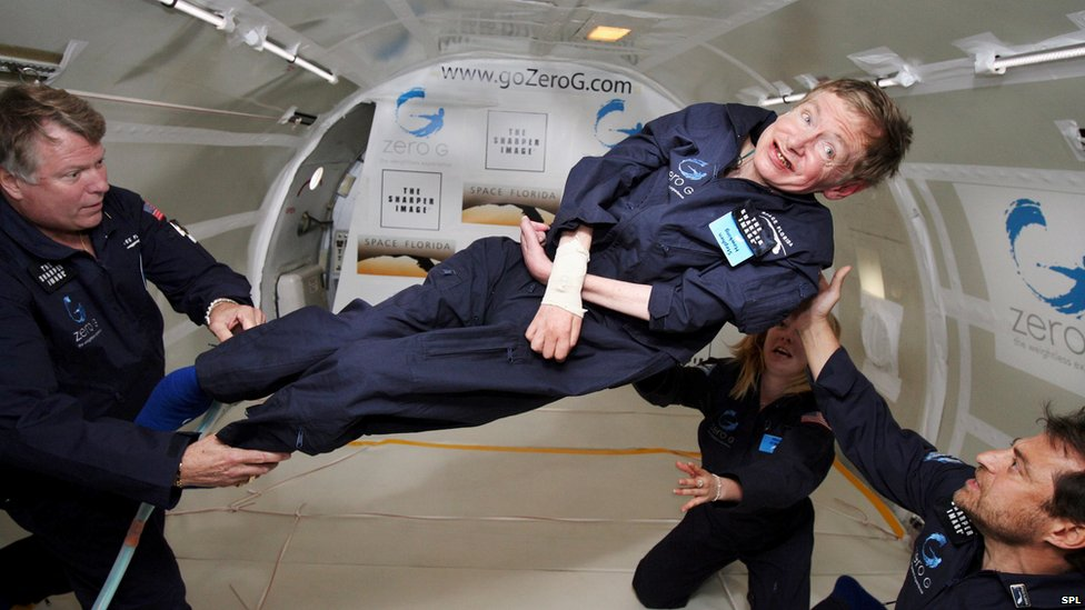 BBC News - In pictures: Science Museum's Stephen Hawking exhibition