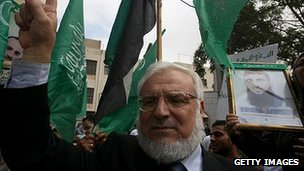 Aziz Dweik in West Bank city of Hebron. Oct 2011