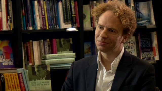 Author Matthew Hollis