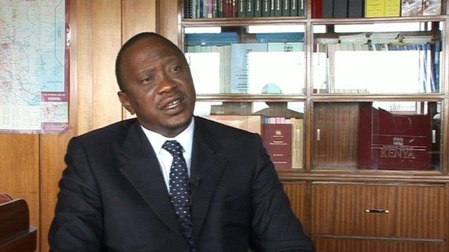 Uhru Kenyatta, Kenya's deputy PM