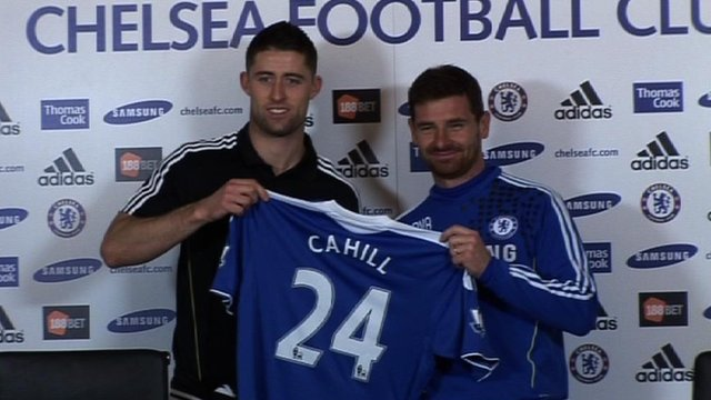 Chelsea signing Gary Cahill