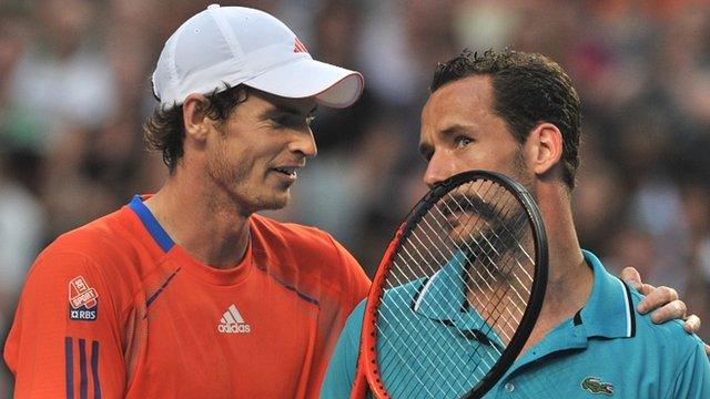 Andy Murray and Michael Llodra