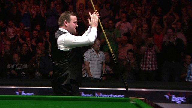 Masters finalist Shaun Murphy