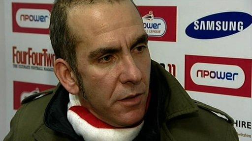 Paolo Di Canio, Swindon manager