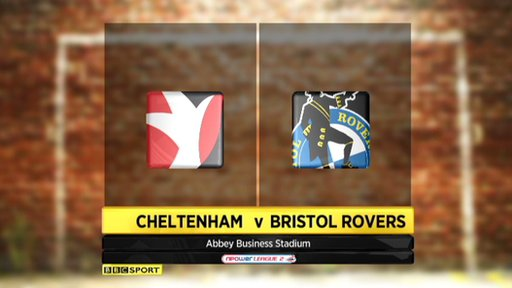 Cheltenham 0-2 Bristol Rovers