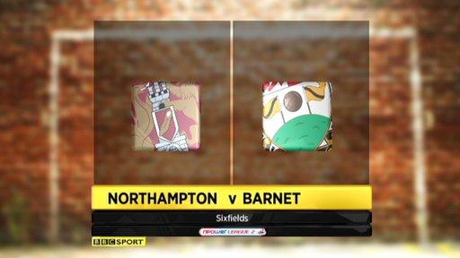 Northampton 1-2 Barnet