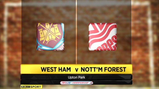 West Ham 2-1 Nott'm Forest