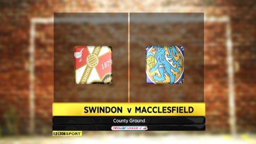 Swindon 1-0 Macclesfield