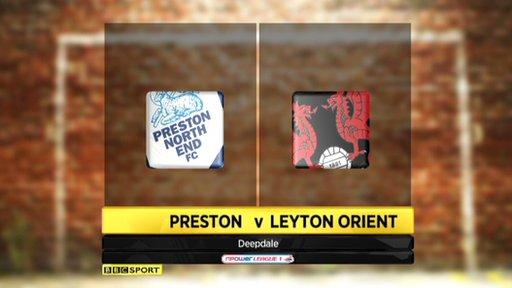 Preston 0-2 Leyton Orient