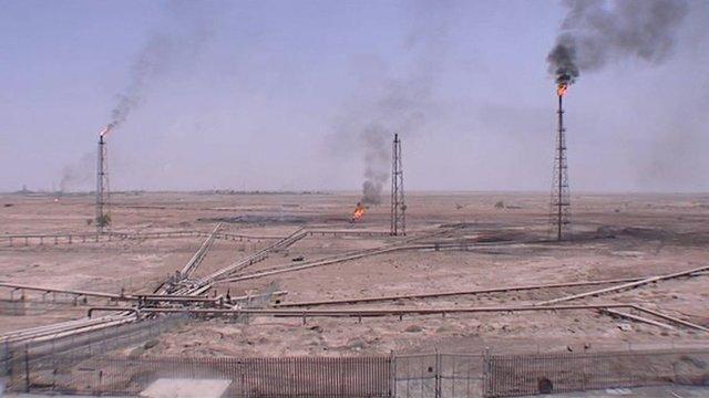 Iran's oil fields