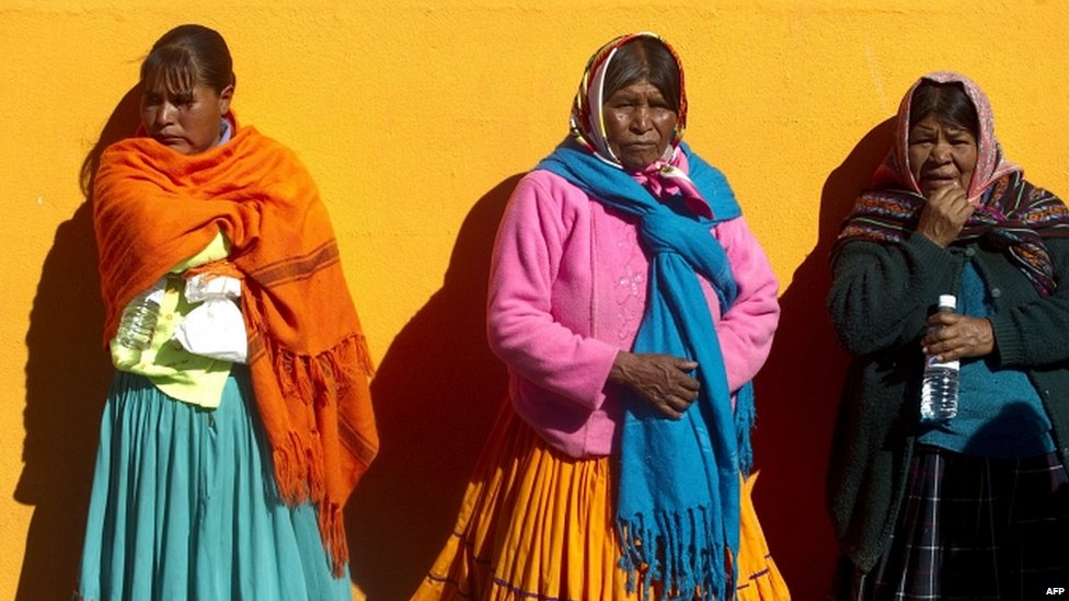 Bbc News In Pictures Food Aid For Mexico S Tarahumara