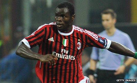 QPR sign AC Milan defender Taye Taiwo