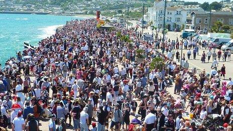 Golowan Festival