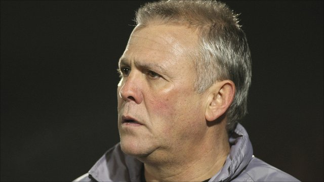 Port Vale assistant manager Mark Grew
