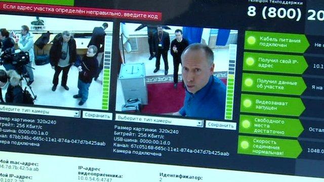 Steve Rosenberg on webcam