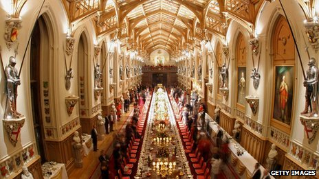 BBC News - Royal feasts: What was eaten through the ages?