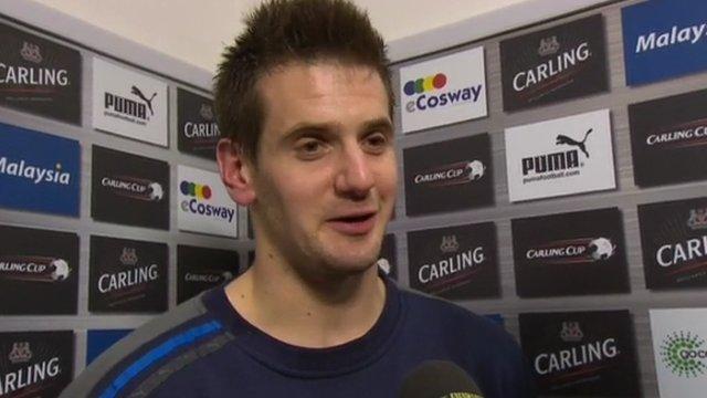 Cardiff City goalkeeper Tom Heaton