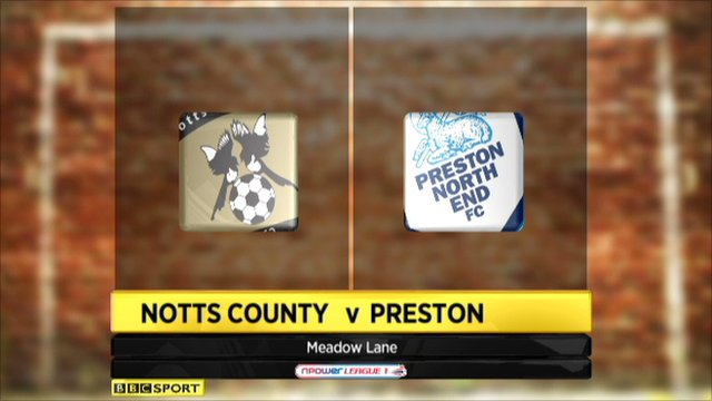 Notts County 0-0 Preston