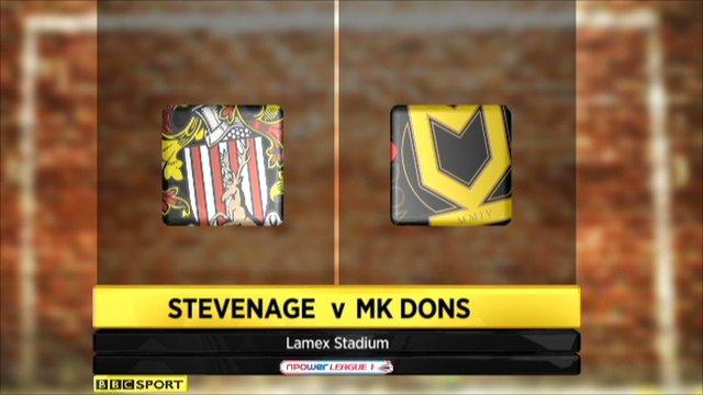 Stevenage 4-2 MK Dons
