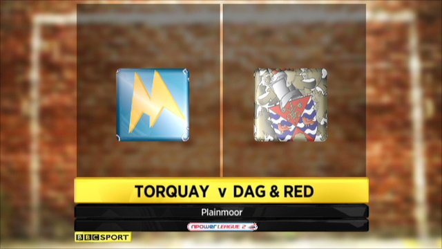 Torquay 1-0 Dag and Red