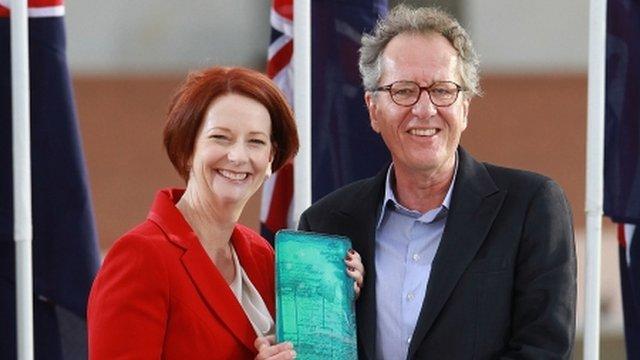 Julia Gillard, Geoffrey Rush