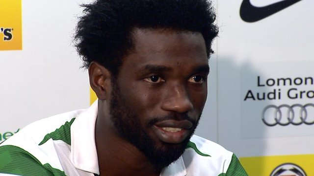 Celtic winger Rabiu Ibrahim