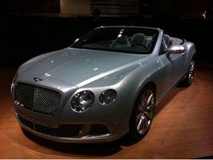 Bentley at a Doha motor show
