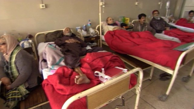 Patients hospitalised by the faulty batch of drugs