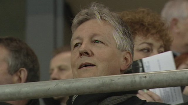 The First Minister of Northern Ireland, Peter Robinson