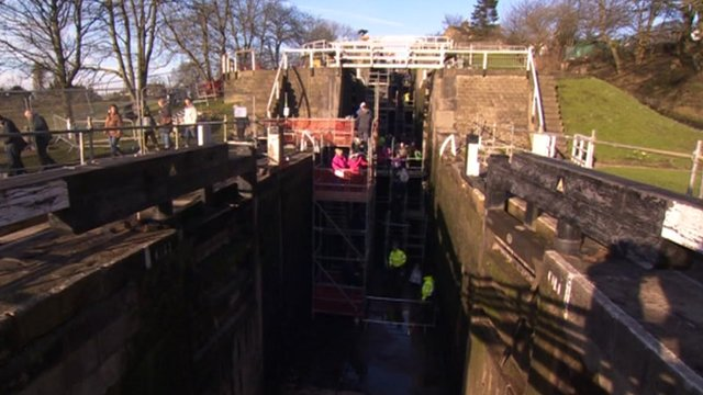 Historic lock system opened to public