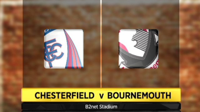 Chesterfield 1-0 Bournemouth
