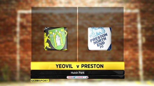 Yeovil 2-1 Preston