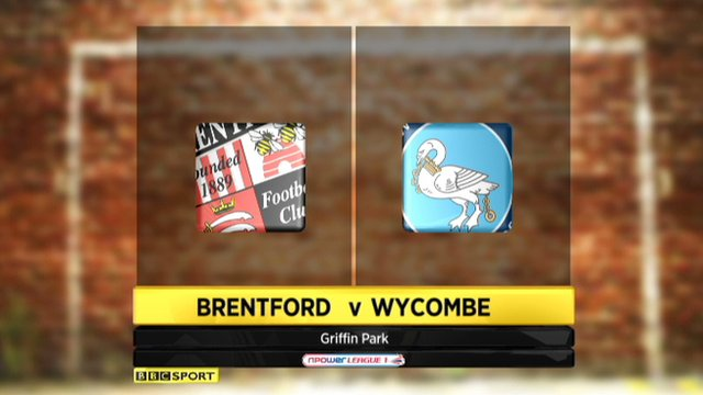Highlights - Brentford 5-2 Wycombe