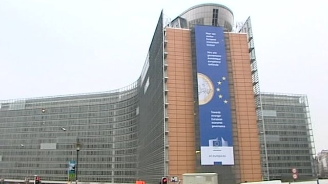 European Council building in Brussels