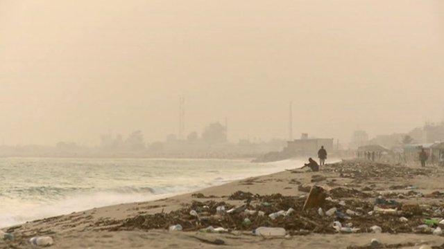 Beach in Nigeria