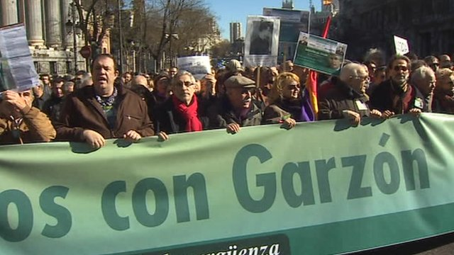 Garzon supporters