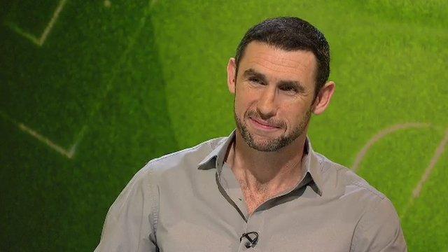 BBC football pundit Martin Keown