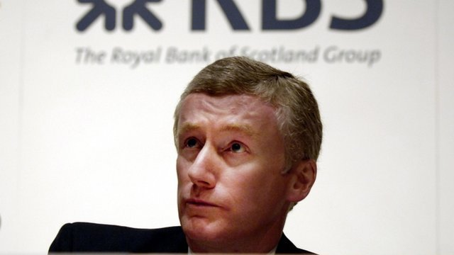 Former Royal Bank of Scotland chief executive Sir Fred Goodwin