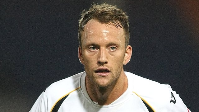 Port Vale striker Sean Rigg