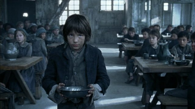 A scene from Oliver Twist