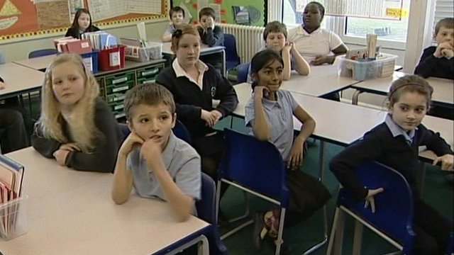 Pupils at Cherry Tree Primary School in Basildon