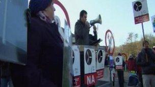 Protest ynni gwynt