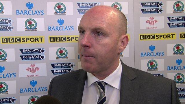 Blackburn boss Steve Kean