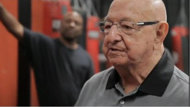 Legendary boxing trainer Angelo Dundee