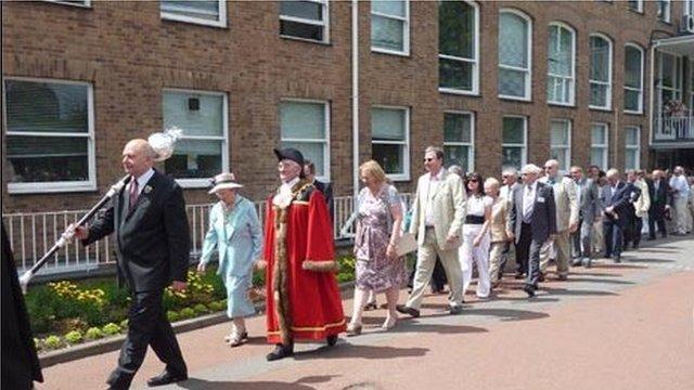 Gorymdaith Seremoni Cyhoeddi Eisteddfod Wrecsam 2011