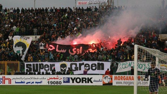 Al-Masry and al-Ahly match