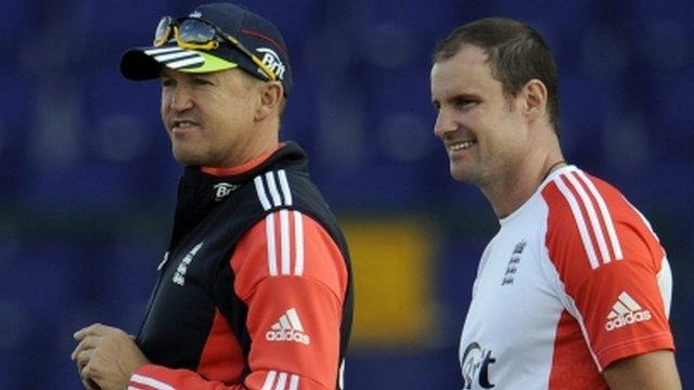 England cricket captain Andrew Strauss