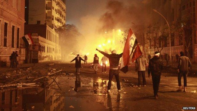 Protest in Cairo