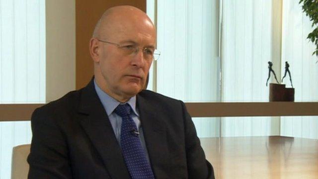 The chairman of Royal Bank of Scotland, Sir Philip Hampton