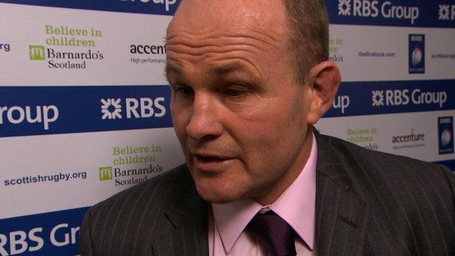 Scotland coach Andy Robinson